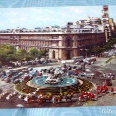 Postales: MADRID. CIBELES Y CALLE DE ALCALÁ.. Lote 133533902