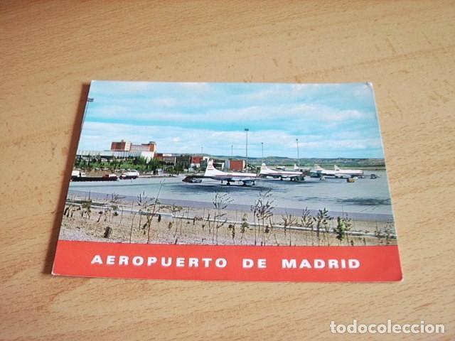 MADRID -- AEROPUERTO (Postales - España - Madrid Moderna (desde 1940))