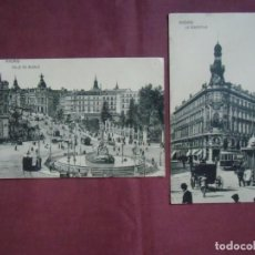 Postales: POSTALES MADRID.SIN EDITOR ,ESCRITA 1914.. Lote 133666246