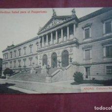 Postales: POSTAL MADRID.CIRCULADA , ED. THOMAS, PUBLICIDAD CLIMENT Y Cª DE TORTOSA.. Lote 133667710