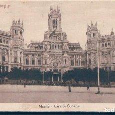 Postales: POSTAL MADRID - CASA DE CORREOS - HUECOGRABADO DE HALLMEYER Y GAUTIER - CIRCULADA. Lote 134171358