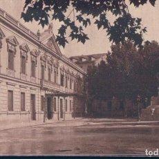 Postales: POSTAL MADRID 19 - PALACIO DEL SENADO Y MONUMENTO A CANOVAS - MUMBRU - CIRCULADA. Lote 134171594