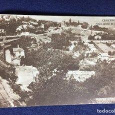 Postales: CERCEDILLA VISTA PARCIAL DE LA COLONIA ANTIGUA POSTAL HELIOTIPIA MADRID 1936 TREN SIERRA DE MADRID . Lote 134300190