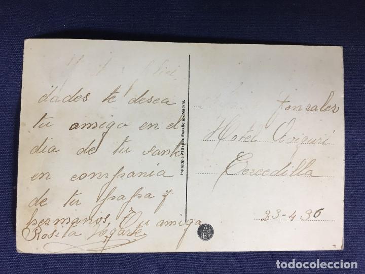 Postales: cercedilla vista parcial de la colonia antigua postal heliotipia Madrid 1936 tren sierra de madrid - Foto 2 - 134300190
