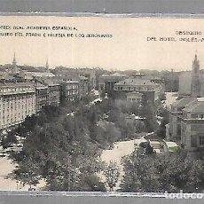 Postales: TARJETA POSTAL DE MADRID - REAL ACADEMIA ESPAÑOLA, MUSEO DEL PRADO E IGLESIA DE LOS JERONIMOS. Lote 134356814