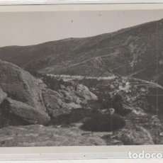 Postales: POSTAL FOTOGRÁFICA. FOTÓGRAFO LOTY 0784 SIERRA DE GUADARRAMA. PUERTO DE NAVACERRADA. SIN CIRCULAR. . Lote 134618042