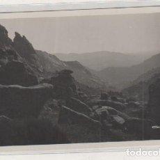 Postales: LOTY 0979 SIERRA GUADARRAMA. VISTA PANORÁMICA DESDE LA PIEDRIZA SUPERIOR. POSTAL FOTOGRÁFICA. . Lote 134755322