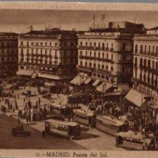 Postales: TARJETA POSTAL DE MADRID. Nº 11. PUERTA DEL SOL. Lote 135183570