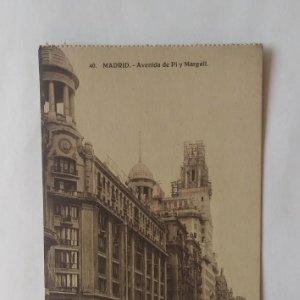 MADRID Lote de 5 postales antiguas