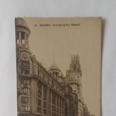 Postales: MADRID LOTE DE 5 POSTALES ANTIGUAS. Lote 135237254