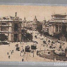 Cartoline: TARJETA POSTAL DE MADRID - CALLE DE ALCALA. BANCO DEL RIO DE LA PLATA Y BANCO DE ESPAÑA. 52. GRAFOS. Lote 135315442
