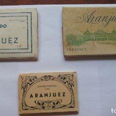 Postales: LOTE ARANJUEZ TARJETAS POSTALES Y FOTOGRAFIAS JARDINES. Lote 136191550