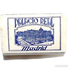 Postales: 24 POSTALES ACORDEÓN PALACIO REAL MADRID TAMAÑO 9 CM X 6 CM. Lote 136201542