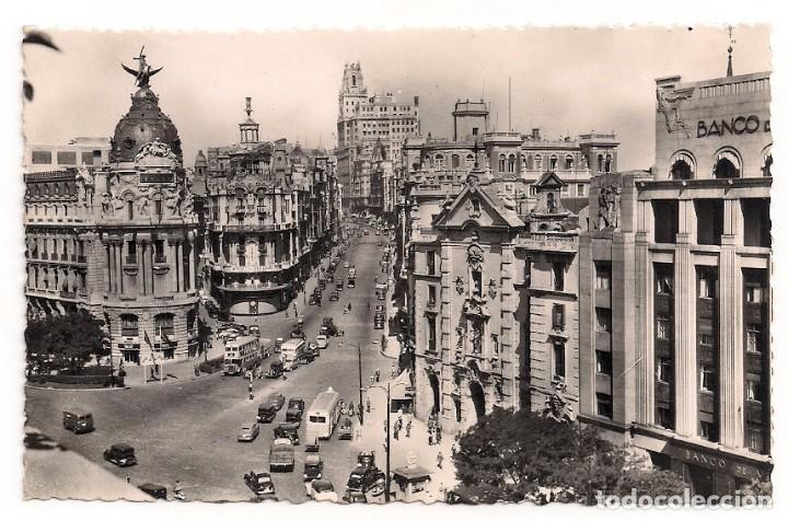 MADRID - AVENIDA DE JOSÉ ANTONIO - Nº2 HELIOTIPIA ARTISTICA ESPAÑOLA (Postales - España - Madrid Moderna (desde 1940))