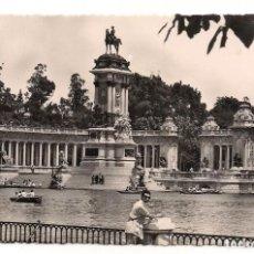 Postales: MADRID - ESTANQUE DEL RETIRO - Nº19 HELIOTIPIA ARTISTICA ESPAÑOLA. Lote 137766414