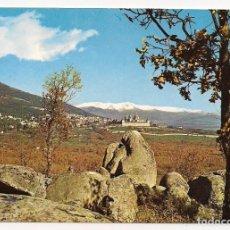 Postales: MADRID - EL ESCORIAL VISTA DESDE LA SILLA DE FELIPE II - Nº40 EDITORIAL PATRIMONIO NACIONAL, ESCRITA. Lote 137828730