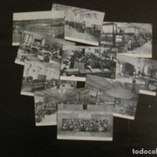 Postales: ARANJUEZ - COLECCIÓN DE 10 POSTALES FABRICA EL TAJO - ALBERT HERMANOS - VIRGILI Y TARRE - (53.615). Lote 138071062
