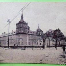 Postales: EL ESCORIAL. MONASTERIO. HIJO DE NICOLÁS SERRANO. NUEVA. BLANCO/NEGRO. Lote 138176621