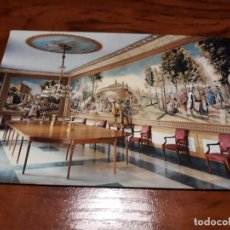 Postales: EL ESCORIAL. PALACIO DE LOS BORBONES. COMEDOR . Lote 138736170