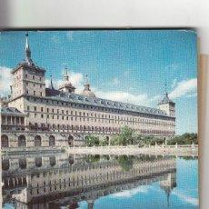 Postales: POSTAL: EL ESCORIAL AÑOS 70 ( TIRA 12 POSTALES ). Lote 139310610
