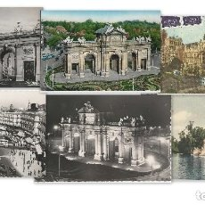 Postales: 1950 LOTE 6 POSTALES ANTIGUAS - CIRCULADAS - MADRID - ESPAÑA -. Lote 139571382