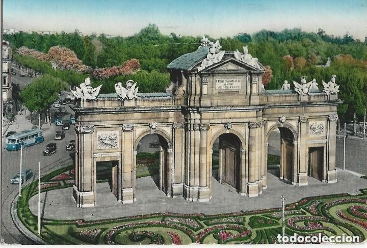Postales: 1950 LOTE 6 POSTALES ANTIGUAS - CIRCULADAS - MADRID - ESPAÑA - - Foto 3 - 139571382