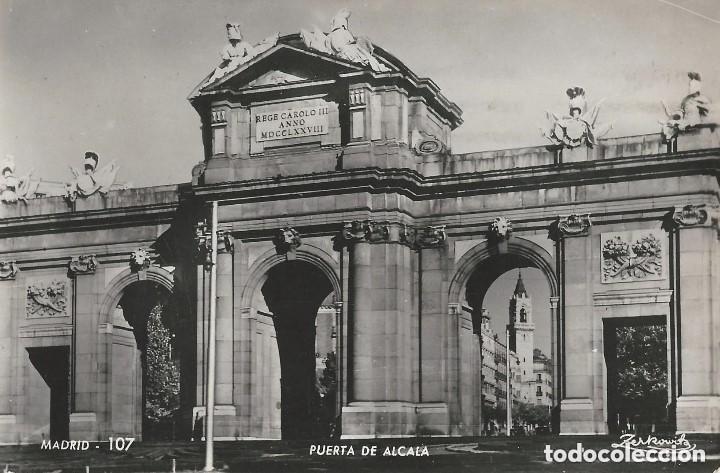 Postales: 1950 LOTE 6 POSTALES ANTIGUAS - CIRCULADAS - MADRID - ESPAÑA - - Foto 5 - 139571382