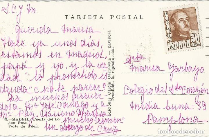 Postales: 1950 LOTE 6 POSTALES ANTIGUAS - CIRCULADAS - MADRID - ESPAÑA - - Foto 8 - 139571382