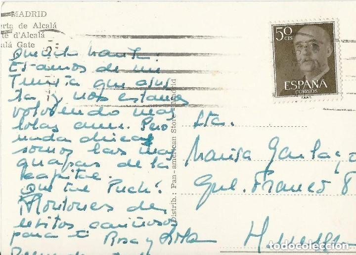 Postales: 1950 LOTE 6 POSTALES ANTIGUAS - CIRCULADAS - MADRID - ESPAÑA - - Foto 10 - 139571382