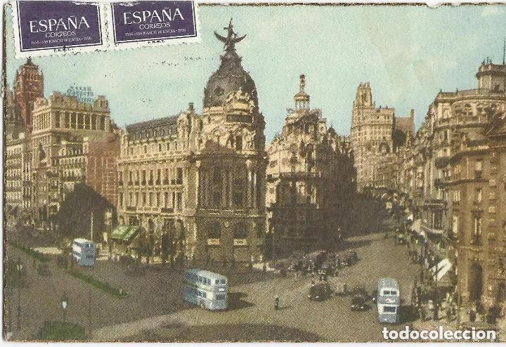 Postales: 1950 LOTE 6 POSTALES ANTIGUAS - CIRCULADAS - MADRID - ESPAÑA - - Foto 11 - 139571382