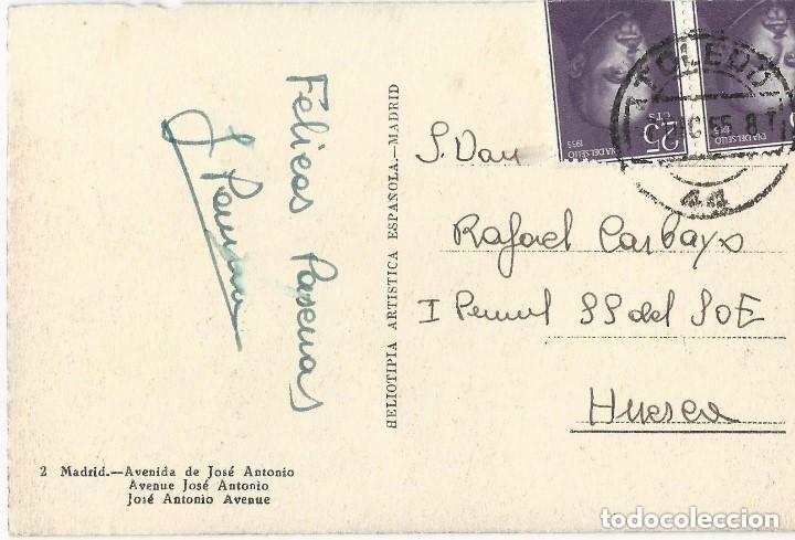 Postales: 1950 LOTE 6 POSTALES ANTIGUAS - CIRCULADAS - MADRID - ESPAÑA - - Foto 12 - 139571382