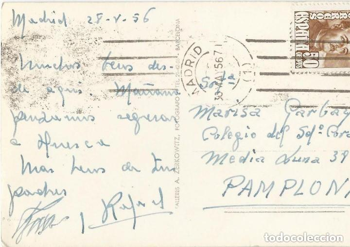 Postales: 1950 LOTE 6 POSTALES ANTIGUAS - CIRCULADAS - MADRID - ESPAÑA - - Foto 13 - 139571382
