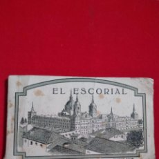 Postales: 20 POSTALES ALBUM EL ESCORIAL PRIMERA SERIE. Lote 139618698