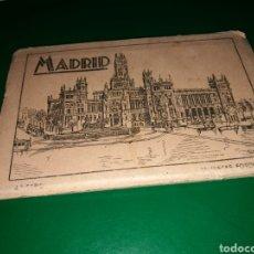 Postales: BLOCK DE 10 POSTALES DE MADRID. ARRIBAS. AÑOS 30. Lote 139669752