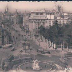Postales: POSTAL MADRID - LA CIBELES Y CALLE DE ALCALA - 36 ARRIBAS - ESCRITA. Lote 139877786