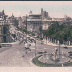 Postales: POSTAL MADRID - FUENTE DE CIBELES Y CALLE DE ALCALA 36 - EDICIONES C C - CIRCULADA SIN SELLO. Lote 139879390