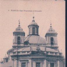 Postales: POSTAL MADRID - SAN FRANCISCO EL GRANDE 4 - HAUSER Y MENET . Lote 139880250