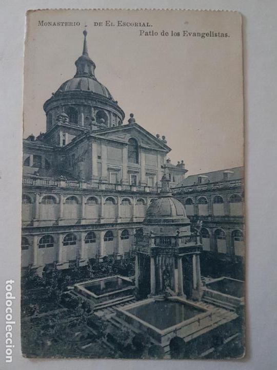 CLAUSTRO DE LOS EVANGELISTAS, MONASTERIO, SAN LORENZO DE EL ESCORIAL (Postales - España - Comunidad de Madrid Antigua (hasta 1939))
