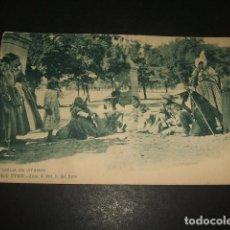 Postales: MADRID FAMILIA DE JITANOS COLECCION MADRID TIPICO Nº 9 FOT. L. DEL ARCO REVERSO SIN DIVIDIR. Lote 140279090