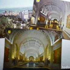Postales: LOTE POSTALES ESCORIAL-VALLE DE LOS CAIDOS CM. Lote 140460342