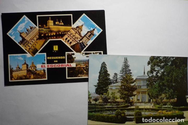 LOTE POSTALES EL ESCORIAL--CM (Postales - España - Madrid Moderna (desde 1940))