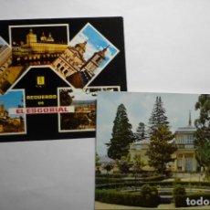 Postales: LOTE POSTALES EL ESCORIAL--CM. Lote 140460378