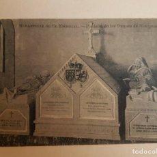 Postales: MONASTERIO DE EL ESCORIAL PANTEON DUQUES MONTPENSIER, EL ESCORIAL. Lote 140503950