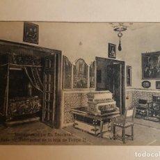 Postales: MONASTERIO DE EL ESCORIAL PALACIO HABITACIONES HIJA FELIPE II EL ESCORIAL. Lote 140504058