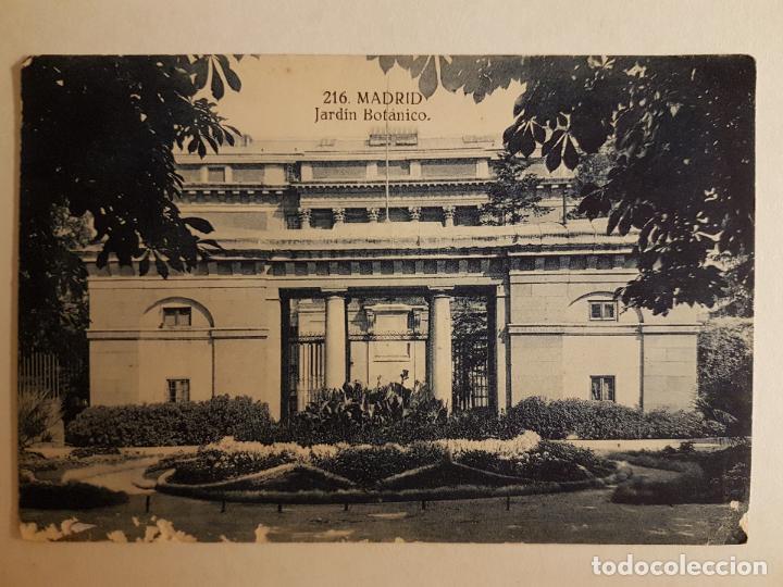 puerta jardin botanico, madrid - Kaufen Alte Postkarten der ...