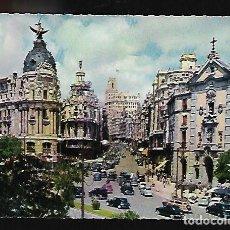Postales: POSTAL* MADRID , CALLE ALCALÁ Y AVDA. JOSÉ ANTONIO * 1959. Lote 140742846