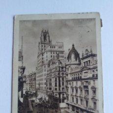 Postales: MADRID PALACIO DE LA TELEFÓNICA. Lote 140764246