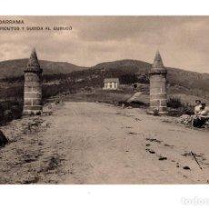 Postales: GUADARRAMA. MADRID.- PICUTOS Y SUBIDA AL GURUGÚ. HAUSER Y MENET. . Lote 140813298