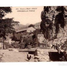 Postales: CERCEDILLA (MADRID).- PAISAJE. Lote 140814578