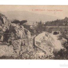 Postales: CERCEDILLA (MADRID).- CAMINO DE CANALEJAS. Lote 140858978